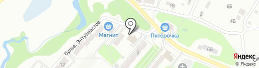 Почтовое отделение №17 на карте Калуги