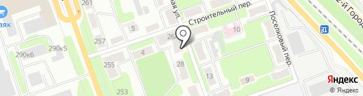 Квартал на карте Калуги