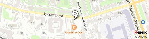Карамелька на карте Калуги