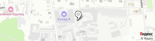 Лак 40 на карте Калуги
