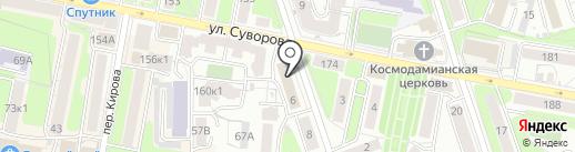 Софт-Сервис на карте Калуги