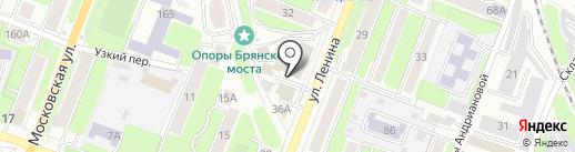 Калужское областное управление инкассации на карте Калуги