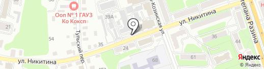 Сигнал на карте Калуги