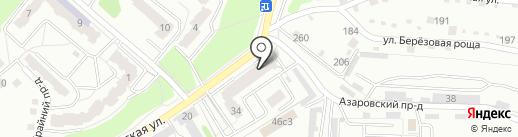 Магазин молочных продуктов на карте Калуги