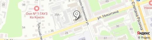 Мелодия фото на карте Калуги