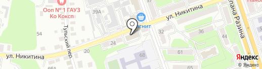 Академия Джедаев на карте Калуги