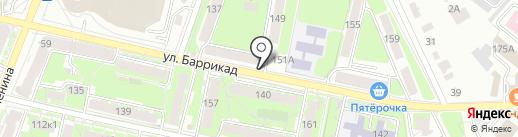 Стиль города на карте Калуги
