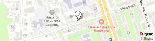М11 на карте Калуги