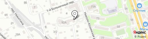 Сектор безопасности на карте Калуги