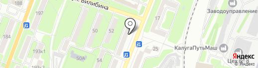 ГазМастер на карте Калуги