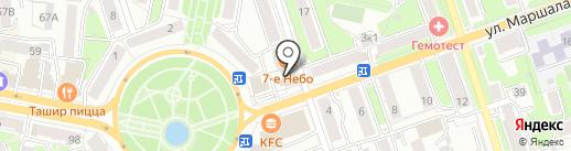 Печати 5 на карте Калуги