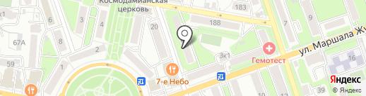 Орто-Трейд на карте Калуги