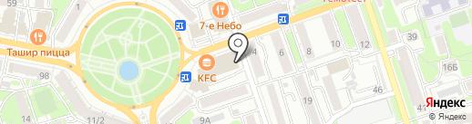 Скрепка на карте Калуги