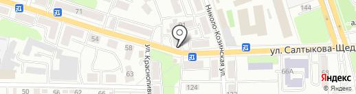 Варница на карте Калуги
