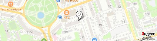 Магазин радиотоваров на карте Калуги