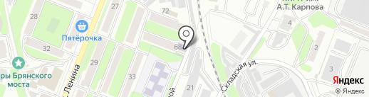 Шашки русские на карте Калуги