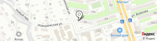СДЮШОР №1 на карте Калуги