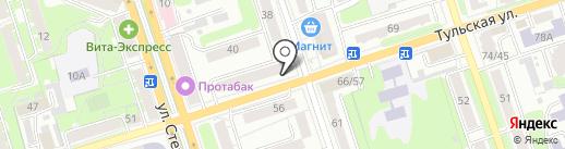 Магазин электроники и радиодеталей на карте Калуги
