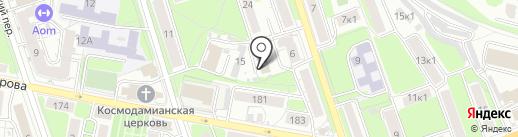 Кентавр М на карте Калуги
