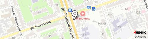 Мирамэль на карте Калуги