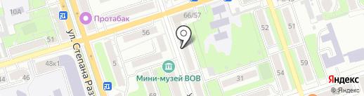 Магазин меда на карте Калуги