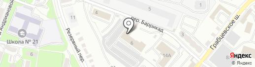 Стройдвор-Калуга на карте Калуги