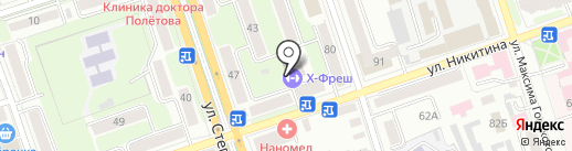 РУБИКОН на карте Калуги