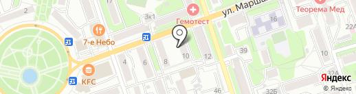 Пивкофф на карте Калуги