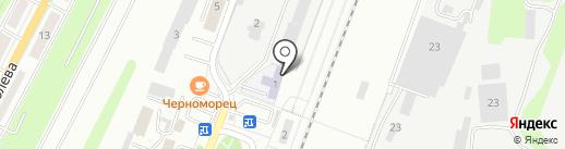 Московский государственный университет путей сообщения на карте Калуги
