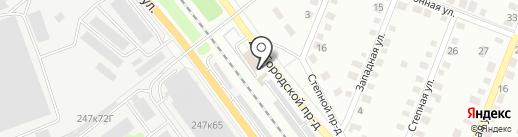 АвтоДАР на карте Калуги