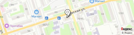 Экспертно-криминалистический центр на карте Калуги