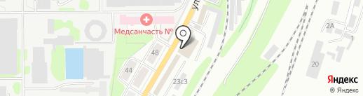 Мастерская памятников на карте Калуги