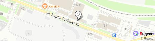 Тора на карте Калуги