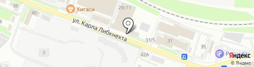Приемный пункт химчистки на карте Калуги