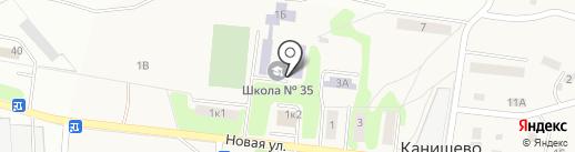 Основная общеобразовательная школа №35 на карте Калуги