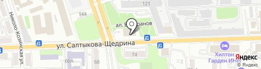 Следственное управление Следственного комитета РФ по Калужской области на карте Калуги
