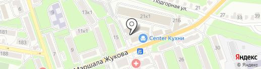 МеН на карте Калуги