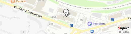 Торгово-сервисная компания на карте Калуги
