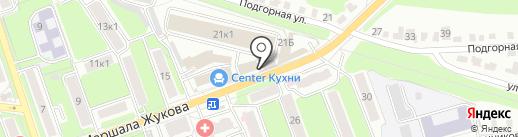 Сундучок на карте Калуги