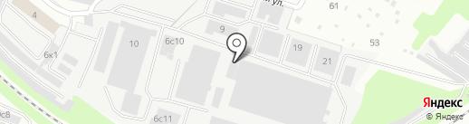 ВЕК ОКОН на карте Калуги