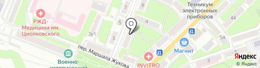 ON-LINE PRINT на карте Калуги