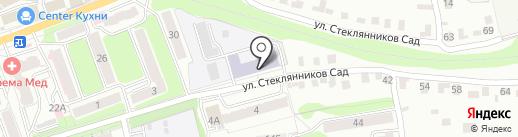 Калужская школа-интернат №5 на карте Калуги