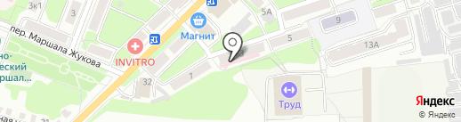 Кедр-1 на карте Калуги