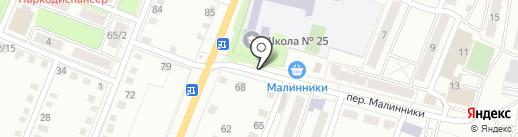 ЗдравСити на карте Калуги