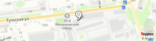 КЭМПМАШ-СЕРВИС на карте Калуги