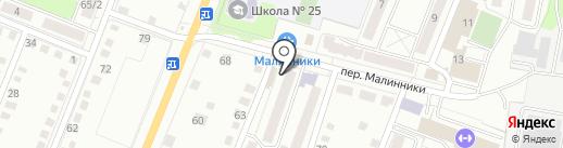 Магазин товаров повседневного спроса на карте Калуги