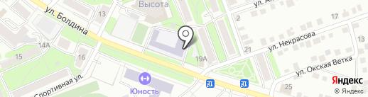 Средняя общеобразовательная школа №4 на карте Калуги