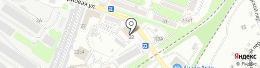 Магазин автозапчастей для корейских автомобилей на карте Калуги