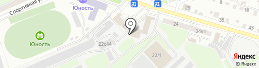 Сталгигант на карте Калуги