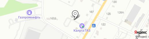 Калуга40 на карте Калуги
